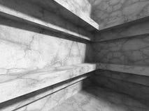 Modern bakgrund för betongväggarkitektur Abstrakt stads- Co Royaltyfri Fotografi