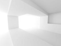 Modern bakgrund för Minimalistic inre arkitekturdesign Arkivbilder