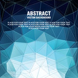 Modern bakgrund för abstrakt vektor Arkivbilder