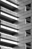 Modern balconies Royalty Free Stock Images