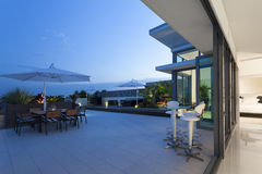 Modern balcony Royalty Free Stock Image