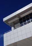 modern balkong Arkivbild