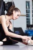 Modern ballet dancer Royalty Free Stock Images