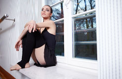 Modern ballet dancer Royalty Free Stock Photo