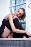 Modern ballet dancer Stock Photo
