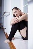 Modern ballet dancer. Attractive woman - modern ballet dancer stock photos
