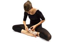 Modern Ballet Dancer Stock Photography