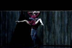 Modern ballet dancers-3 Stock Photos
