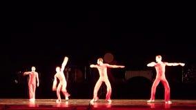 Modern ballet Degage stock videobeelden
