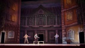 Modern ballet This Tango in June stock video footage