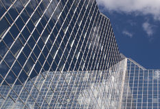 Modern bank building. In utrecht the netherlands Royalty Free Stock Image