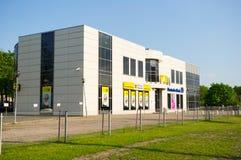 Modern bankbyggnad Arkivbilder