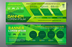 Modern Banner Business Design Template Background Royalty Free Stock Photo