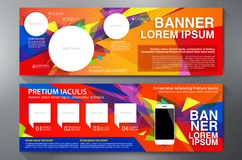Modern Banner Business Design Template Background Royalty Free Stock Photography