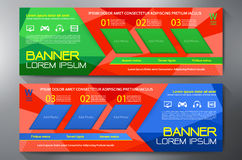 Modern Banner Business Design Template Background. Royalty Free Stock Photography