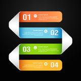 Modern banner design template Royalty Free Stock Photography