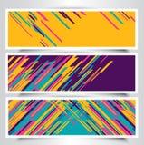 Modern banner designs Royalty Free Stock Image