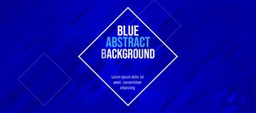 Modern banner fun color blue abstract background vector illustration