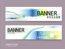 Modern banner template brochure Royalty Free Stock Images