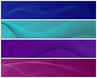 Modern banners Stock Images