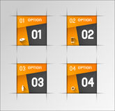 Modern banners Royalty Free Stock Photography