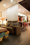 Modern bar or restaurant interior Stock Photography
