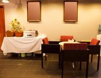 Modern bar or restaurant interior Stock Images