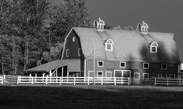 Modern Barn Stock Image