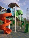 Modern barnlekplats Royaltyfri Fotografi
