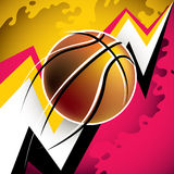 Modern basketball background. Stock Photo