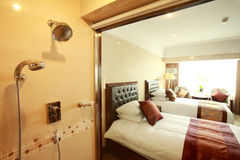 Modern bath room Stock Image