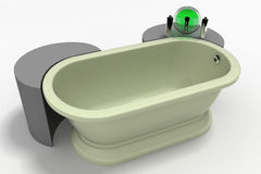 Modern Bath Tub Stock Photos