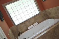 Modern Bath / Tub Area Stock Photo