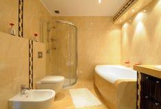 Modern bathroom royalty free stock photo