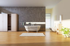 Modern bathroom Royalty Free Stock Images