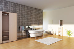 Modern bathroom Royalty Free Stock Photo