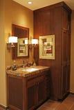 Modern bathroom. Royalty Free Stock Image