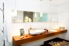 Modern bathroom 2 Stock Image