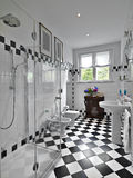 Modern bathroom Royalty Free Stock Image