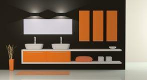 Free Modern Bathroom Royalty Free Stock Image - 35567436