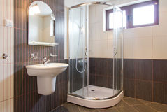Free Modern Bathroom Royalty Free Stock Image - 39752006