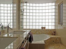 Modern bathroom. In house, spain Royalty Free Stock Photography