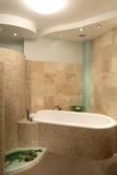 Modern bathroom. Luxury bathroom in modern home Stock Photo