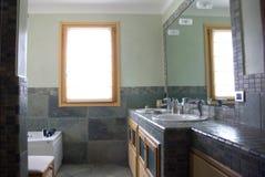 Modern bathroom. General view of modern bathroom Royalty Free Stock Photos