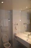 Modern bathroom. Modern room with a bath Royalty Free Stock Photos