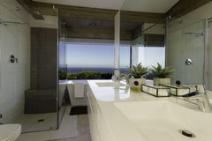 Modern bathroom  basin Stock Image