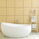 Modern bathroom. 3d rendering. Stock Photo