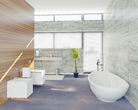 Modern bathroom Royalty Free Stock Photography