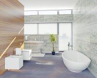 Modern bathroom Royalty Free Stock Photography