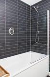 Modern bathroom detail Stock Photography